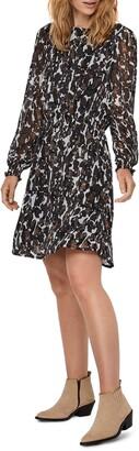 AWARE BY VERO MODA Mally Long Sleeve Minidress