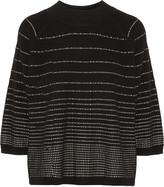 Raoul Striped merino wool-blend sweater