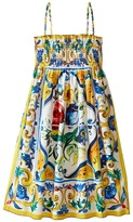 Dolce & Gabbana Escape Sleeveless Dress (Big Kids)