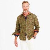 J.Crew Wallace & Barnes wool camo shirt-jacket
