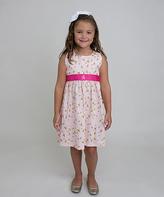 Princess Linens Pink Initial Flight Jumper - Infant, Toddler & Girls