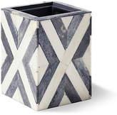 Kassatex Bristol Tumbler - Gray/White