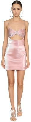 Area Embellished Lame Dress