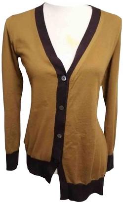 Marni Gold Cashmere Knitwear