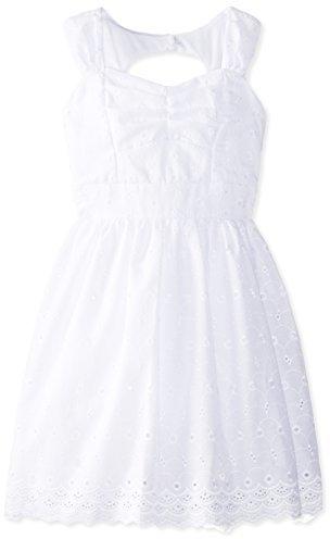 Ruby Rox Big Girls' Sweet Heart Neckline Dress
