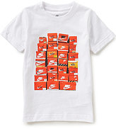 Nike Little Boys 2T-7 Shoebox Short-Sleeve Tee