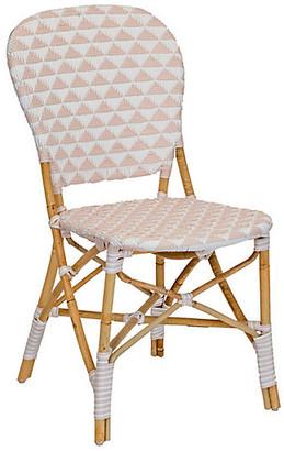 Selamat Pinnacles Side Chair - White/Blush