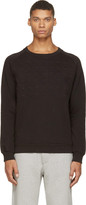 Pierre Balmain Black Covered Stud Sweatshirt
