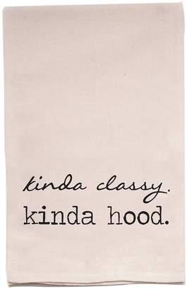 Ellembee Home Kinda Classy Kinda Hood Tea Towel