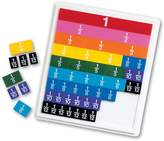 Learning Resources Rainbow Fraction Plastic Tiles & Tray Set