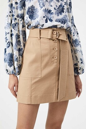 Witchery Utility Belted Skirt