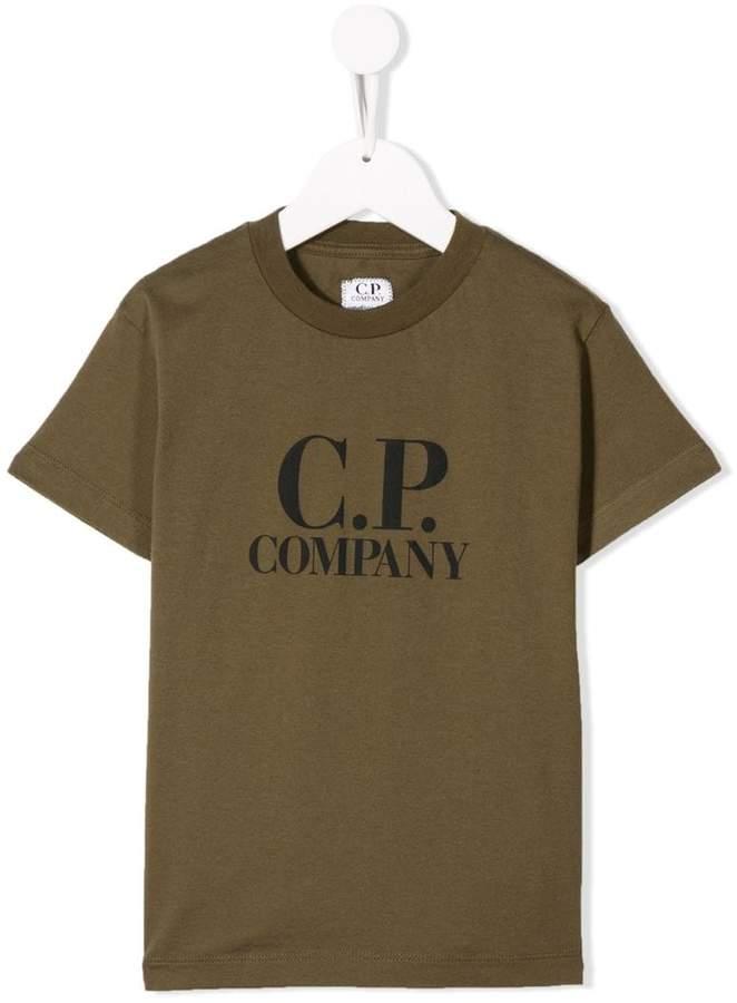C.P. Company Kids printed T-shirt