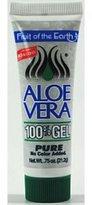 Fruit of the Earth Aloe Vera Gel - 0.75oz Tube (1 Case - 36 Units)