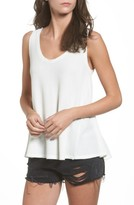 Sun & Shadow Women's Washed Thermal Tank