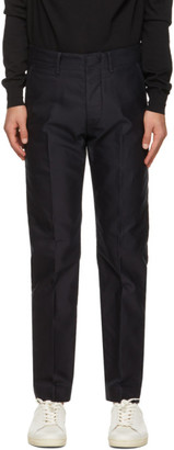 Tom Ford Navy Compact Military Chino Trousers