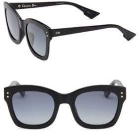 Christian Dior Diorizon 2 51MM Square Sunglasses
