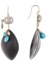 Alexis Bittar Liquid Stone Cluster Earrings
