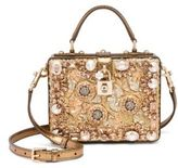Dolce & Gabbana Rosaria Crystal-Embellished Box Bag