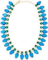 Fragments Dual-Tone Necklace, Blue/Green