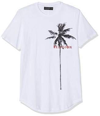 Religion Men's Pocket Palm Tee T-Shirt,(Manufacturer Size:XL)