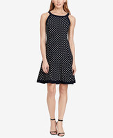 American Living Polka-Dot Jersey Dress