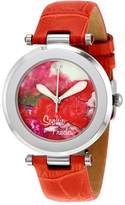 Freda Butchart Painted Porcelain Dial Ladies Watch