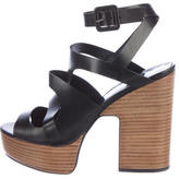 Pierre Hardy Leather Platform Sandals