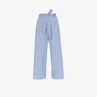 By Any Other Name Aviator Tie Waist Trousers