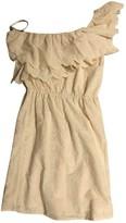 Bel Air Ecru Cotton Dress for Women