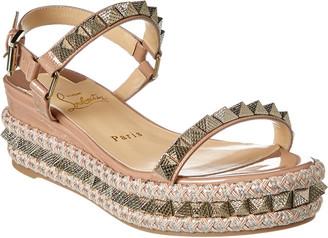Christian Louboutin Pyraclou 60 Patent Sandal