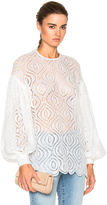 Zimmermann Karmic Embroidered Top