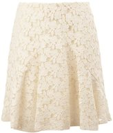 Giambattista Valli lace pleated skirt - women - Silk/Cotton/Polyester/Viscose - 42