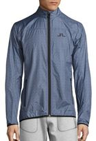 J. Lindeberg Golf Zip-Front Long Sleeve Jacket