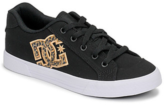 DC CHELSEA TX SE women's Skate Shoes (Trainers) in Black