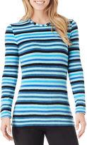 Cuddl Duds Fleecewear Long-Sleeve Crewneck T-Shirt