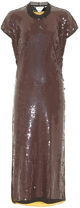 Bottega Veneta Sequined midi dress