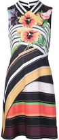 Mary Katrantzou 'Alpina' dress - women - Silk/Cotton - 10