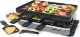 Swissmar 8-Person Eiger Raclette Reversible Cast Iron Party Grill
