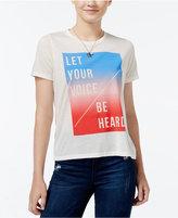 Mighty Fine Juniors' Be Heard Graphic T-Shirt