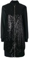 Herno sequin embellished bomber jacket - women - Polyester/Polyamide/Spandex/Elastane - 44