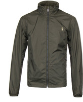Polo Ralph Lauren Armadillo Green Lightweight Hooded Jacket