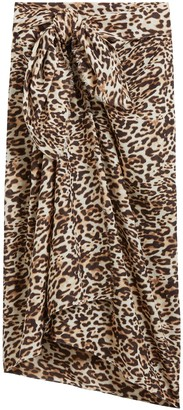 Banana Republic Leopard Sarong