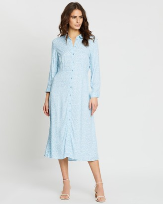 Y.A.S Janice Midi Dress