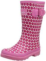 Joules Girls Printed Welly Rain Boot