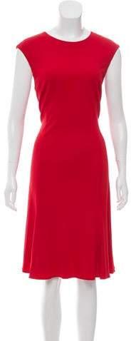 Ralph Lauren Black Label Sleeveless Midi Dress