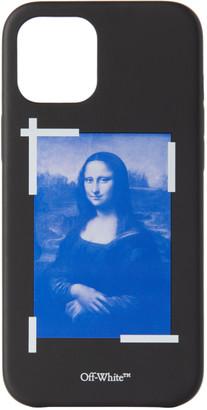 Off-White Black Mona Lisa iPhone 12 Pro Max Case
