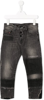 Diesel Dropped Crotch Jeans