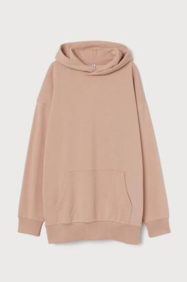 H&M Oversized Hoodie - Orange