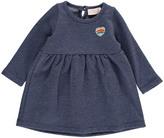 Simple Eris Heart Patch Fleece Dress