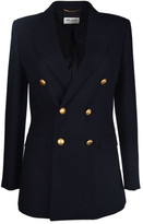 Saint Laurent Angie Pea Coat